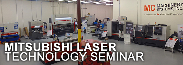 Join Mitsubishi Laser for a Technology Seminar in Texas